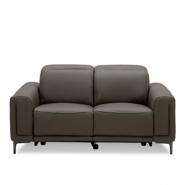 Cardero Loveseat in Dark Grey M55, Straight