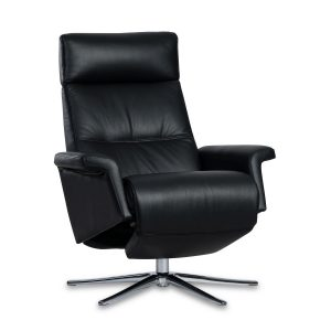 IMG Space SPM3600 Recliner in Trend Tuxedo Leather, Recliner In