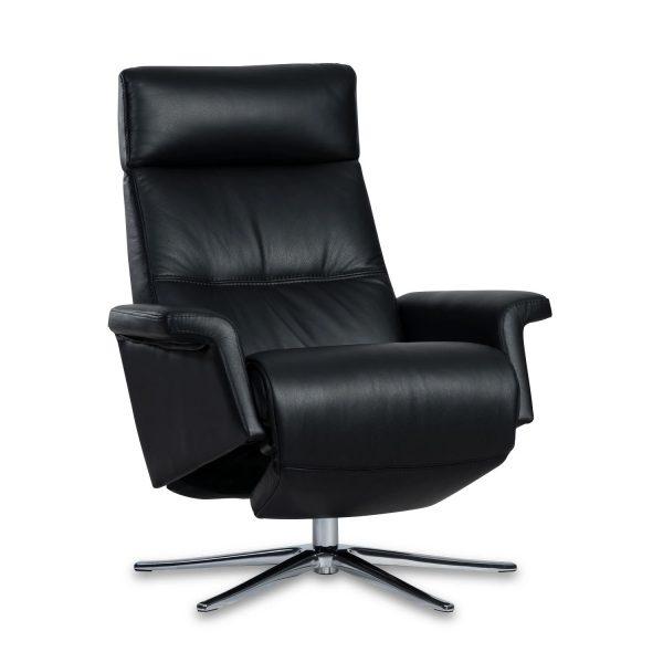 IMG Space SPM3600 Recliner in Trend Tuxedo Leather, Recliner In