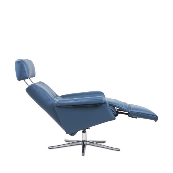 IMG Space SPM3600 in Teal Leather, Full Recline