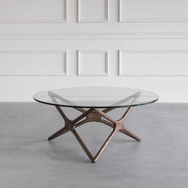 Nova Coffee Table in Walnut, Wall