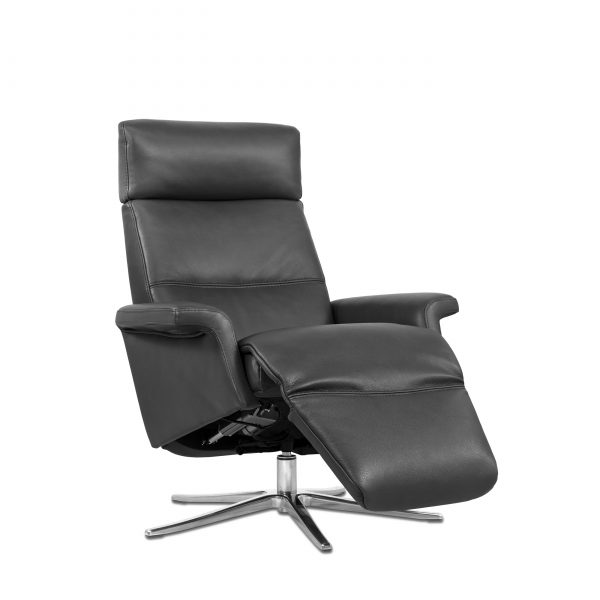 Space SPM3600 in Graphite, Angle, Reclined