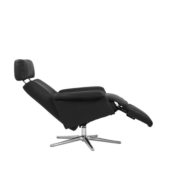 Space SPM3600 in Graphite, Side, Reclined