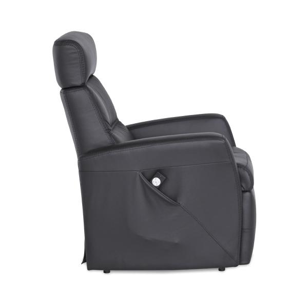 Divani Multi-function Recliner Black, Side