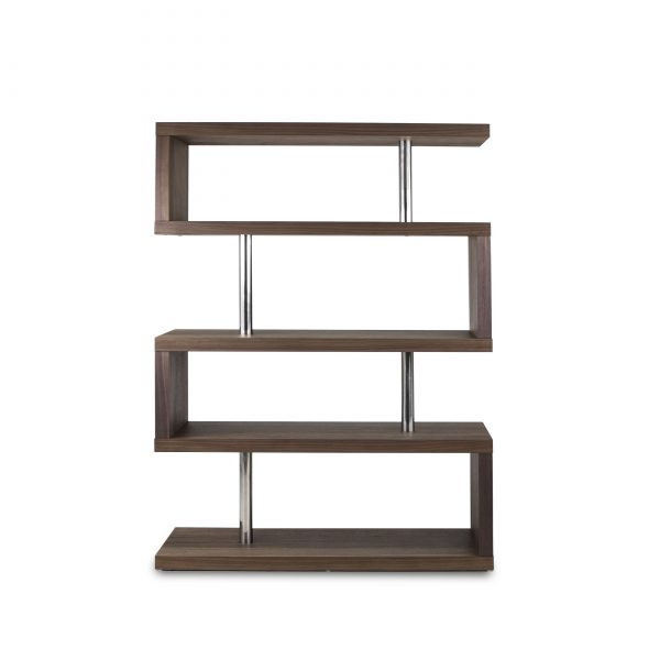 Hale Shelf in Walnut, Front