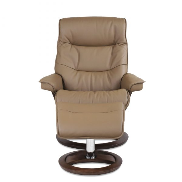 IMG Cortina Recliner in Prime Fango, Front