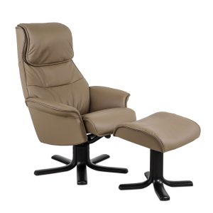 IMG Scandi 151 Recliner in Fango, Angle