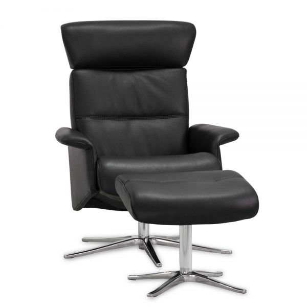 IMG Space 22.42S ET Recliner in Trend Tuxedo, Angle