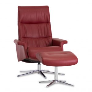 IMG Space 24.24 Recliner in Ruby, Angle