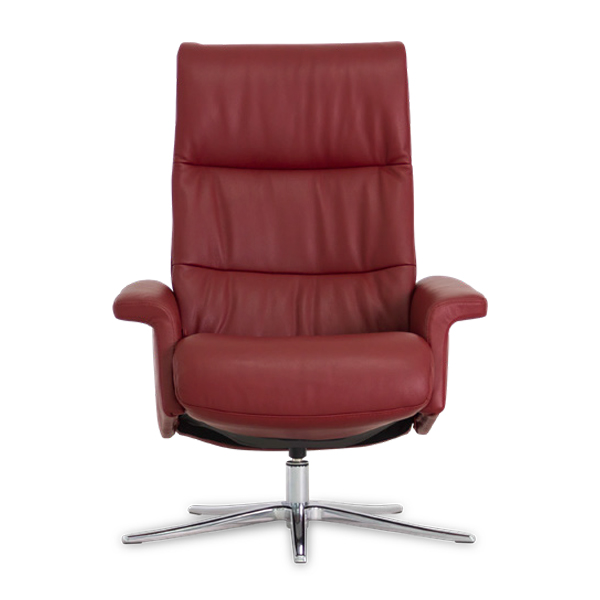 IMG Space 24.24 Recliner in Ruby, Front