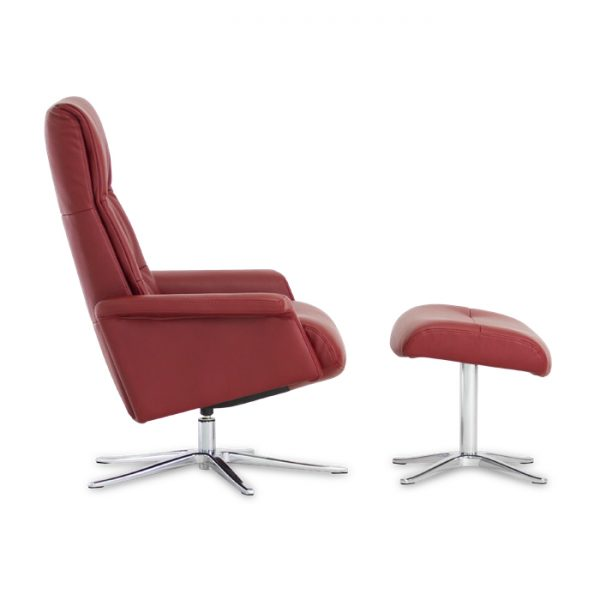 IMG Space 24.24 Recliner in Ruby, Side