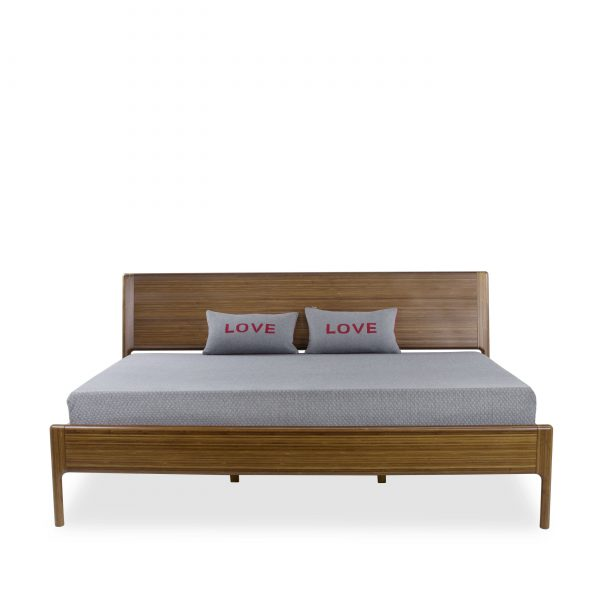 Ventura Bed in Amber, Front