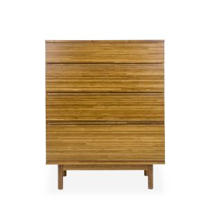 Ventura High Chest in Amber, Front