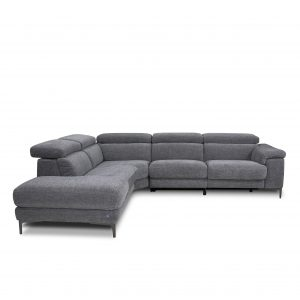Wallace Sectional in Sky Charcoal, Front, SL