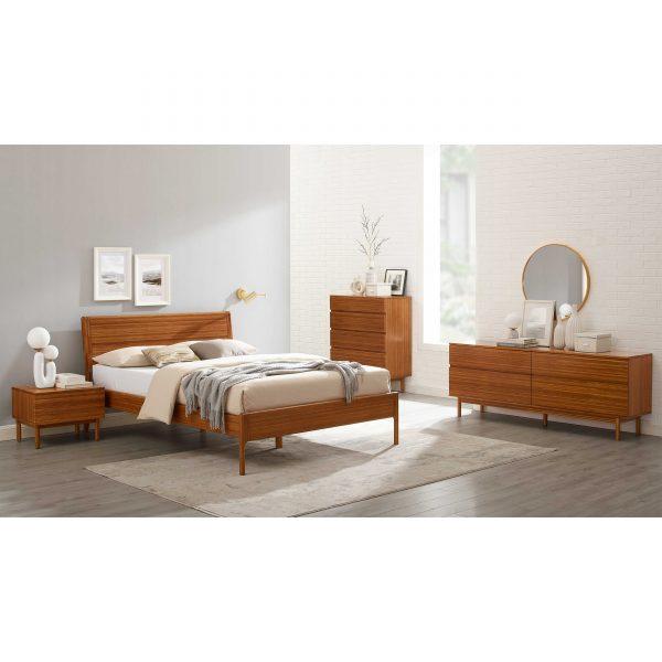 Greenington Ventura Bed in Amber, All Pieces