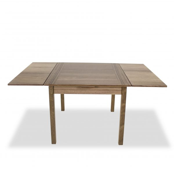 664 Dining Table in Walnut, Extended Front