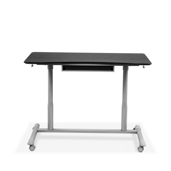 205 Lift Table in Espresso, Lowered, Front