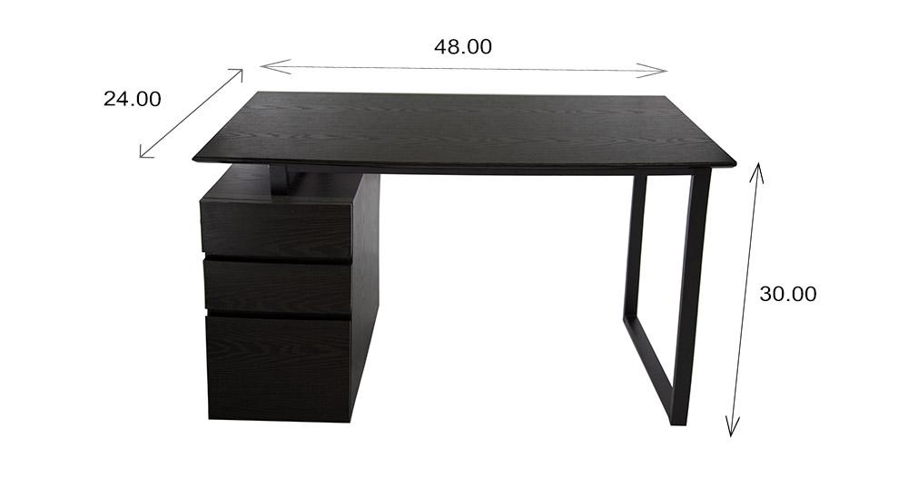 220 Pedestal Desk Dimensions