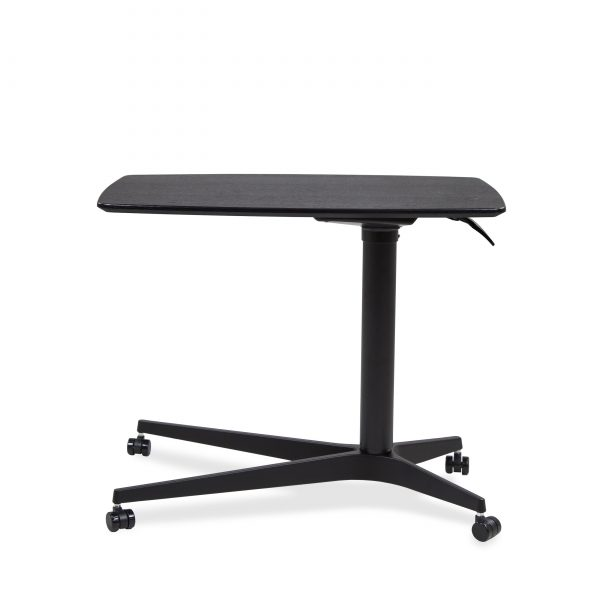 245 Lift Table in Espresso, Lowered, Front