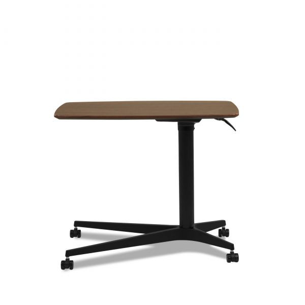 245 Lift Table in Walnut, Lowered, Front