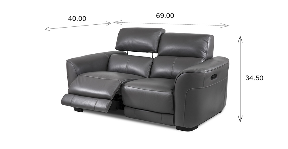 Barry Loveseat Dimensions