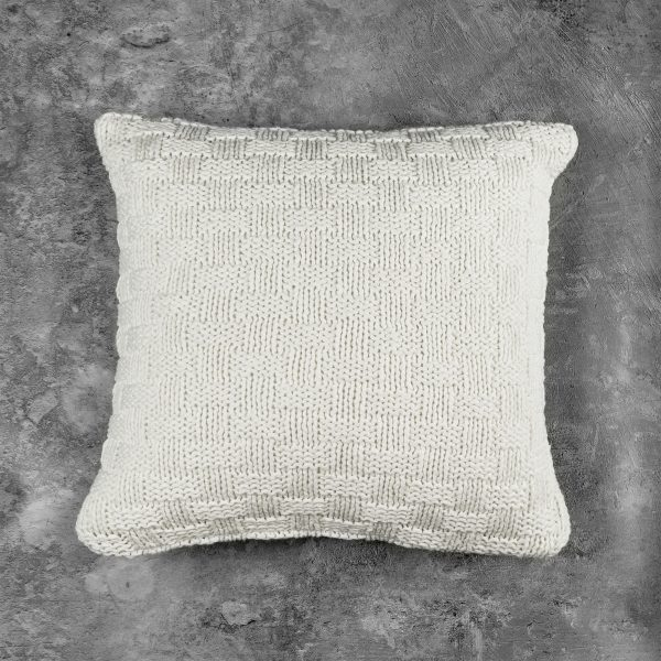Basket Ivory Pillow, Top
