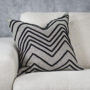 Chevron Grey Pillow