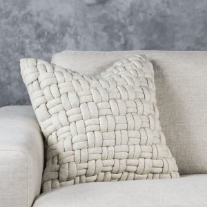 Clusp Cream Pillow