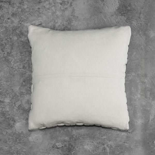 Clusp Cream Pillow, Back