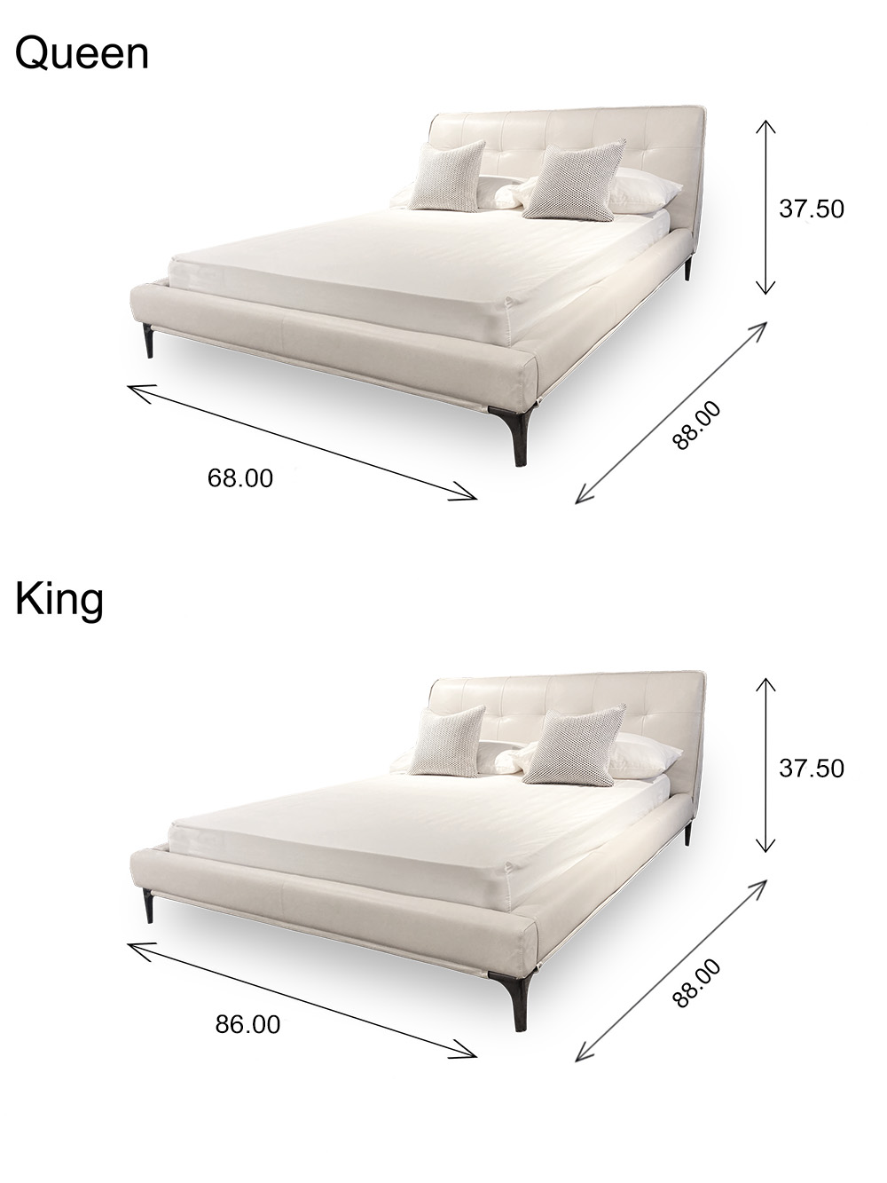 Hudson Bed Dimensions