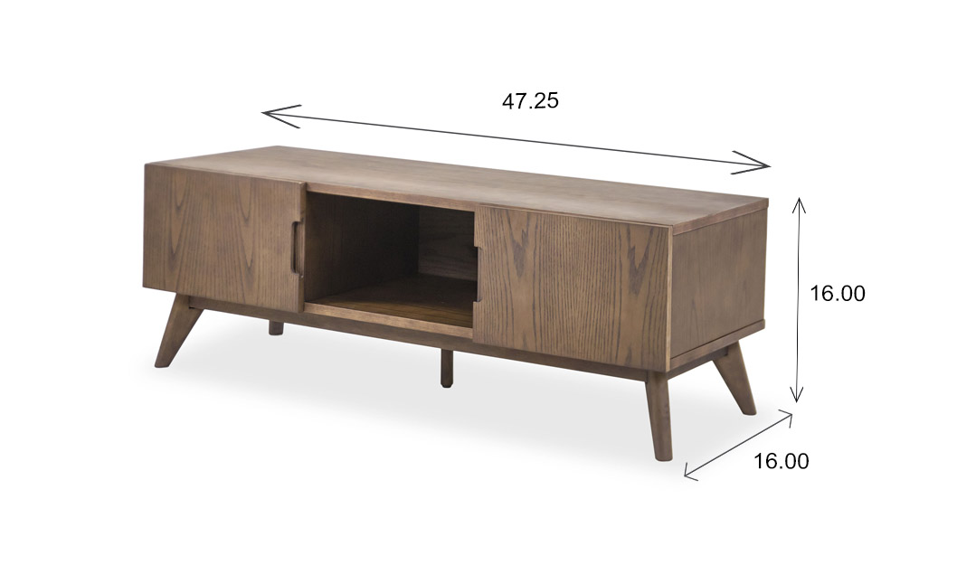 Jess TV Stand Dimensions