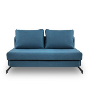 Lotus Sofabed in Teal, Front