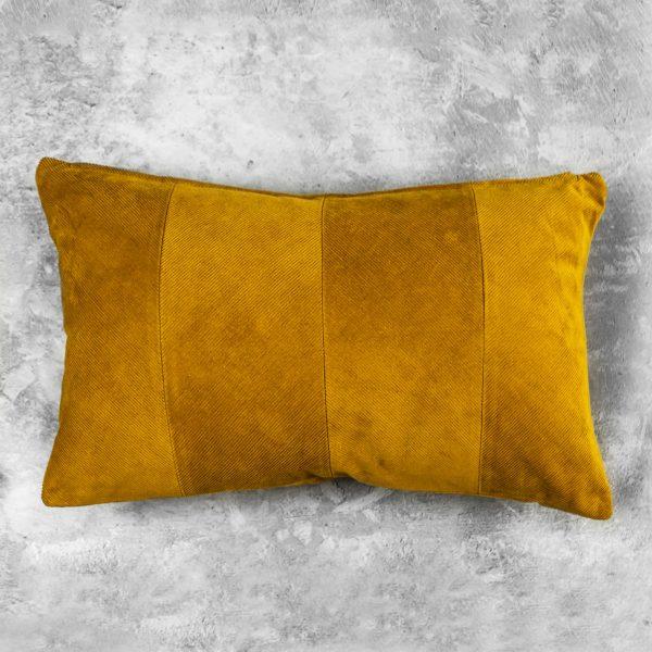 Penelope Ochre Pillow 12 x 20, Top