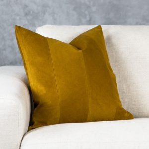 Penelope Ocher Pillow 20 X 20