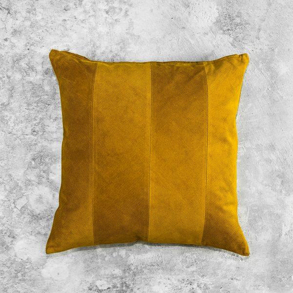 Penelope Ochre Pillow, Top