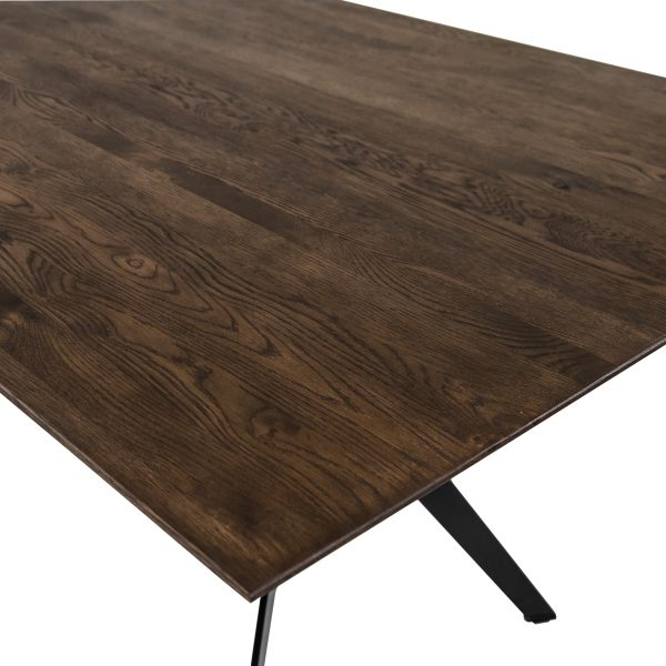 Sanctuary Dining Table in Auburn, Close Up