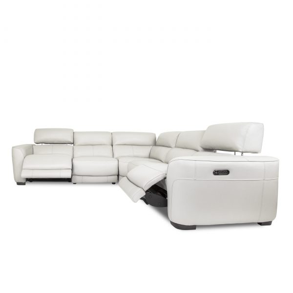 Barry Sectional in Antartica, Front, Recline