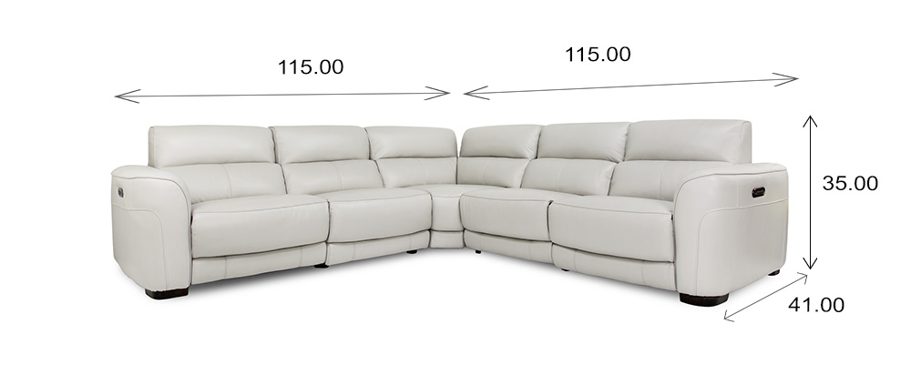 Barry Sectional Dimensions