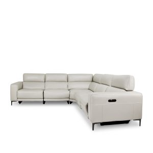 Fredrick Sectional in Frost, Front