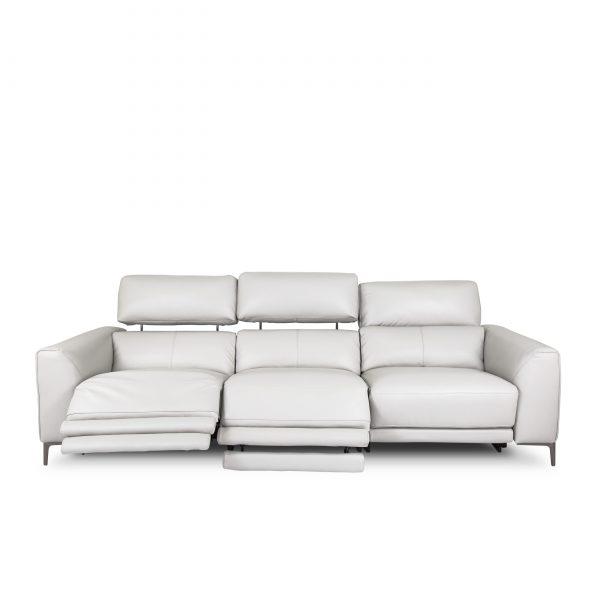 Phillip large Sofa in Antarctica, Front, Recline