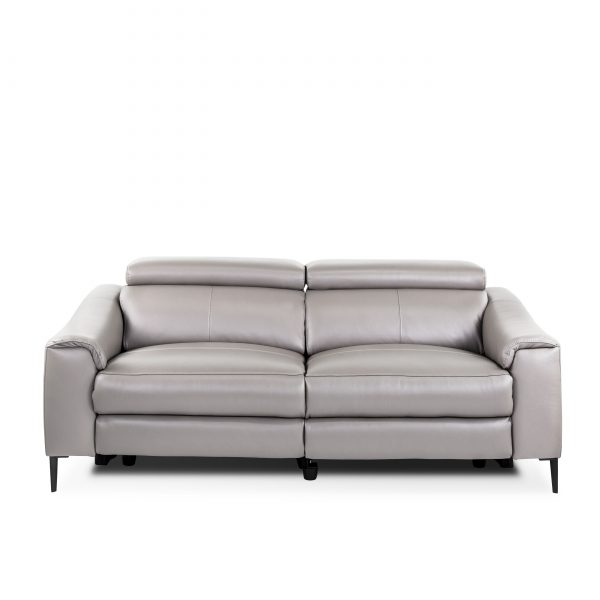 Barclay Sofa in Grey M8, Front