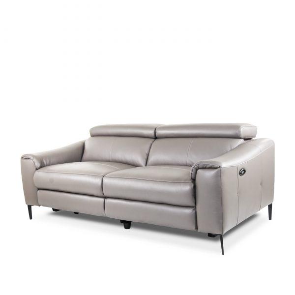 Barclay Sofa in Grey M8, Angle