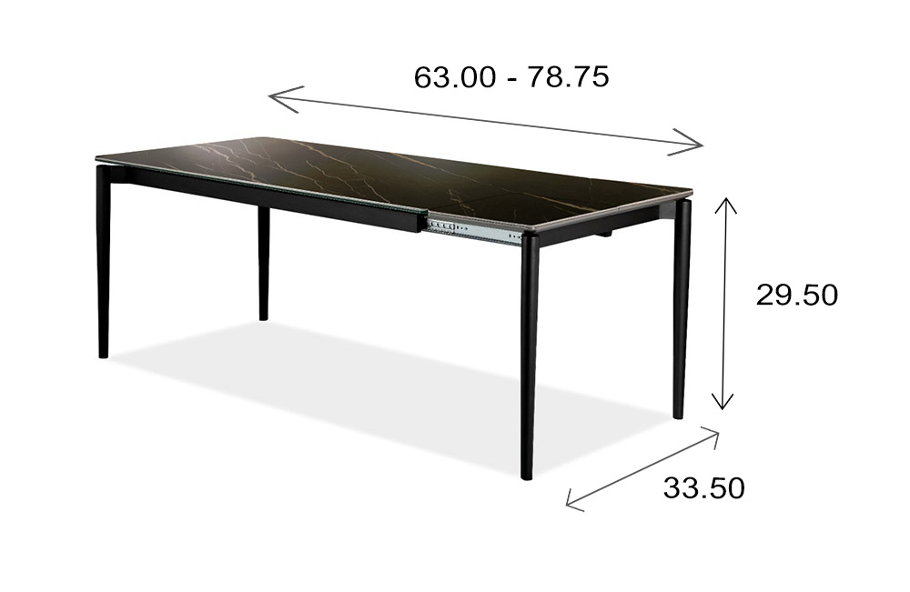 Gala Table Dimensions