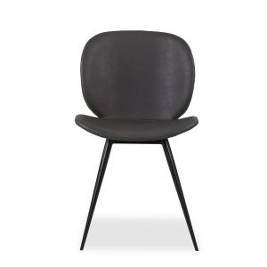 Cloud Dining Chair in Grey, Front