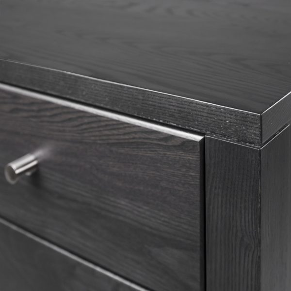 Calvin Double Dresser in Obsidian, Close Up