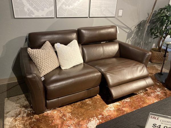 Barry Sofa New Pine Reclined