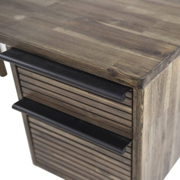 Crest Desk, Close Up