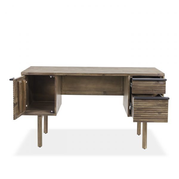 Crest Desk, Front, Open