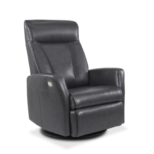 Oslo Recliner in Shadow, Angle