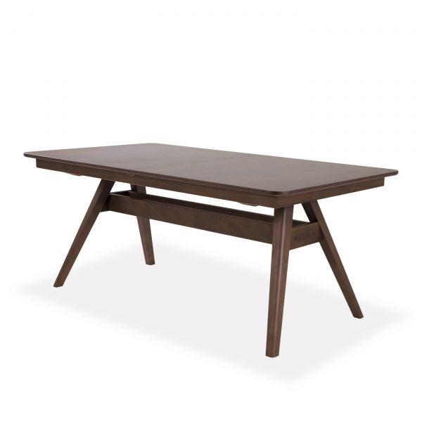 Skovby SM10 Dining Table in Walnut, Angle